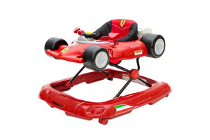 Ferrari F1 Baby Walker Red